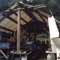 小屋修理全体