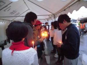 20150221竹灯籠に点火