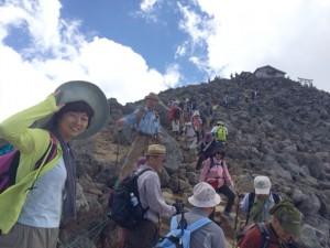 山頂 写真