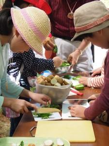 料理班 野菜きり