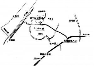 恵下山 地図