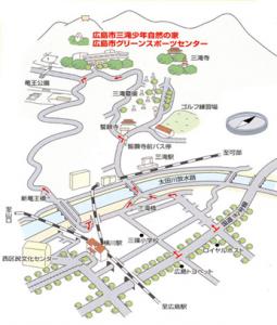 三滝例会 地図