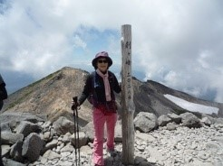 吉田さん山岳